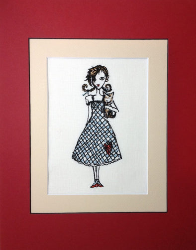 Wizard of Oz Collection - Dorothy - Embroidery Design