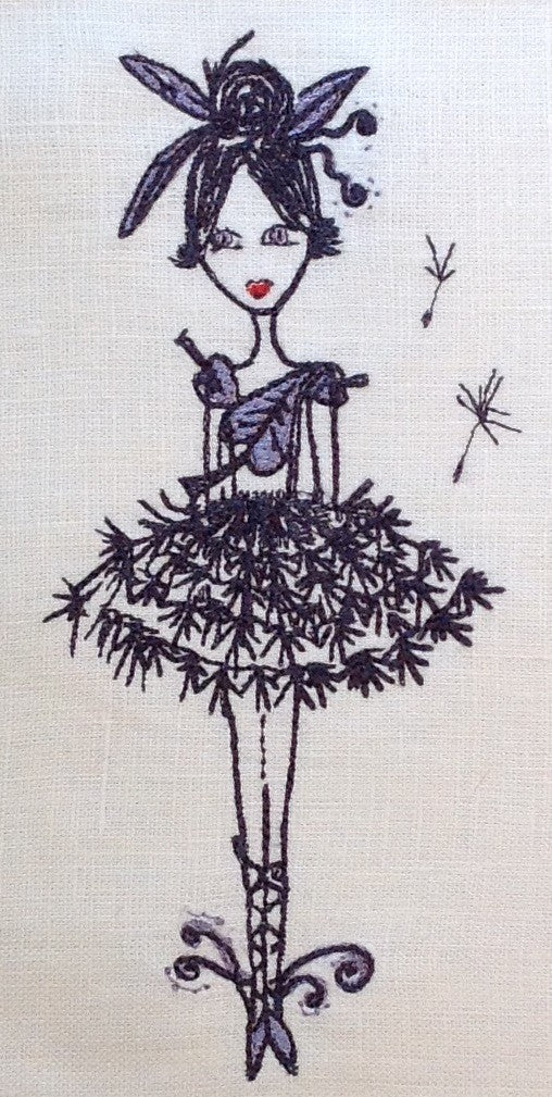 Tink Ballerina - Embroidery Design