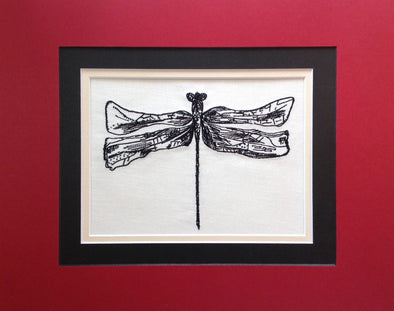 Dragonfly - Embroidery Design