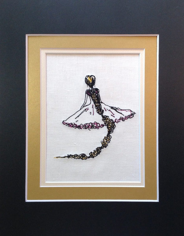 Rapunzel Tangled - Embroidery Design