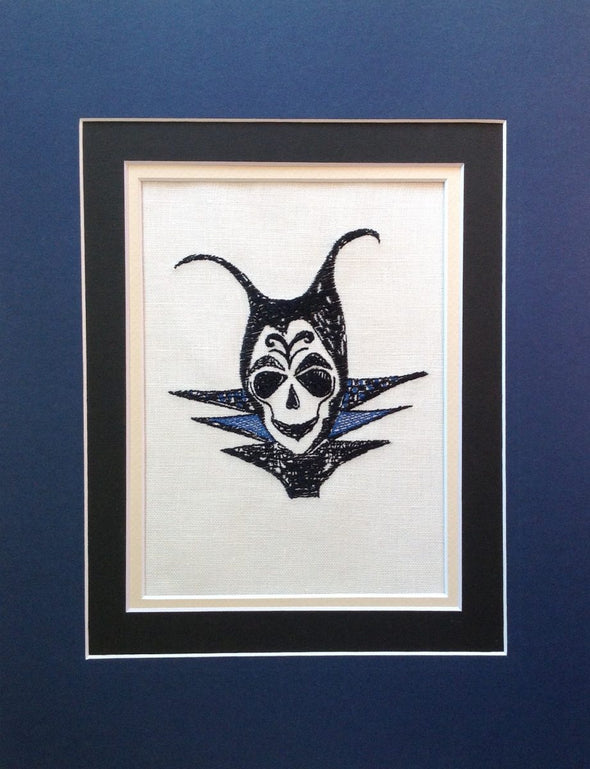 Maleficent Skull - Embroidery Design
