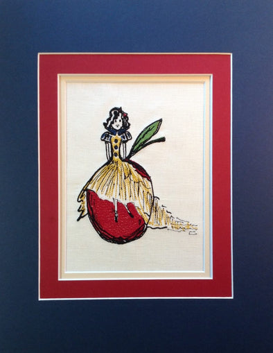 Snow White's Apple - Embroidery Design