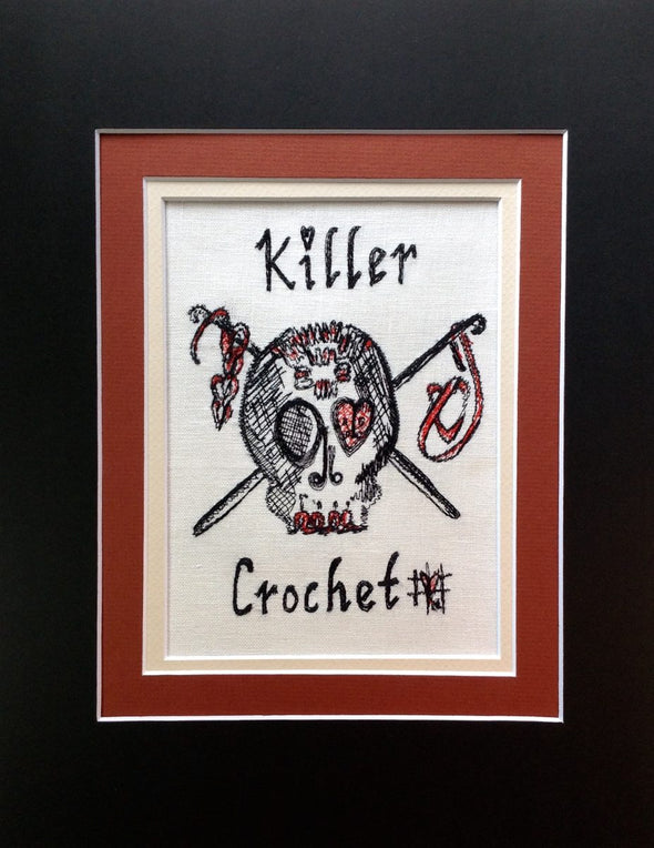 Killer Crochet - Embroidery Design
