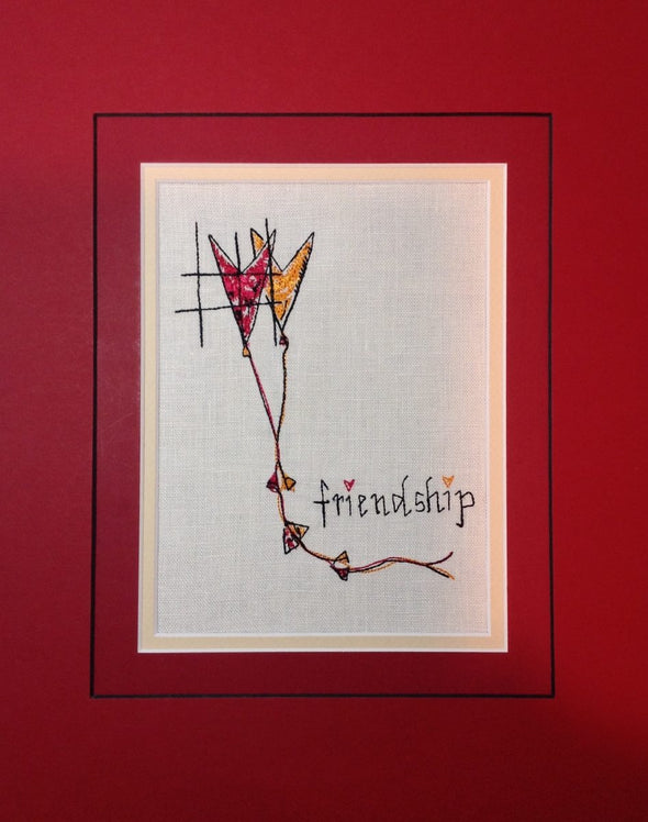 Friendship - Embroidery Design