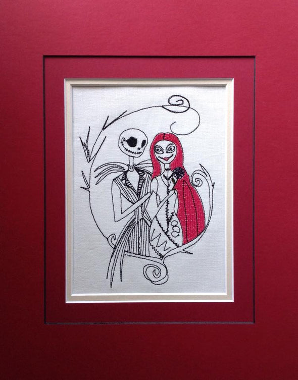 Jack and Sally Halloween - Embroidery Design