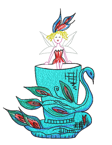 Teacup Fairy Peacock