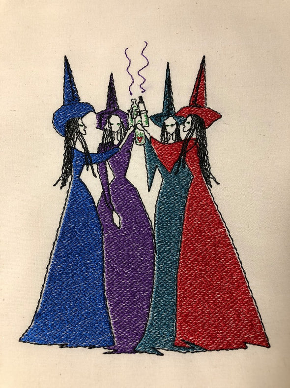 Urban Embroidery Designs Witches brew party