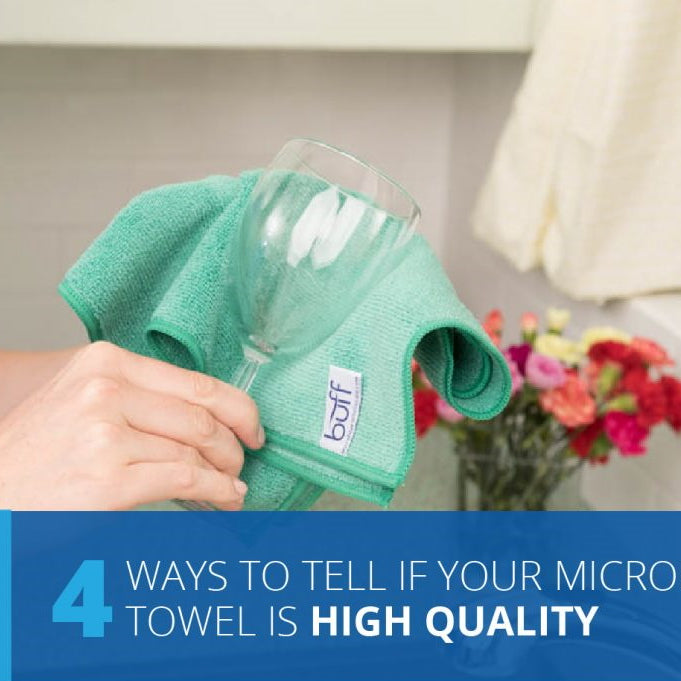 Checking The Microfiber Quality Of Your Towel