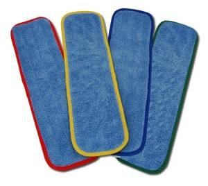 NEW MICROFIBER PRODUCT: COLOR-CODED MICROFIBER WET MOP PAD