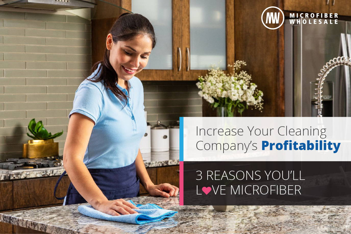 3 BENEFITS OF MICROFIBER THAT GROW YOUR CLEANING BUSINESS