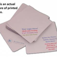 GREAT DEAL ON CUSTOM PRINTED MICROFIBER CLOTHS!