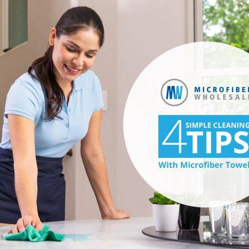 4 SIMPLE MICROFIBER CLOTH CLEANING TIPS – ECO FRIENDLY, NO CHEMICALS NEEDED!