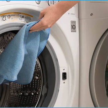 HOW TO WASH MICROFIBER