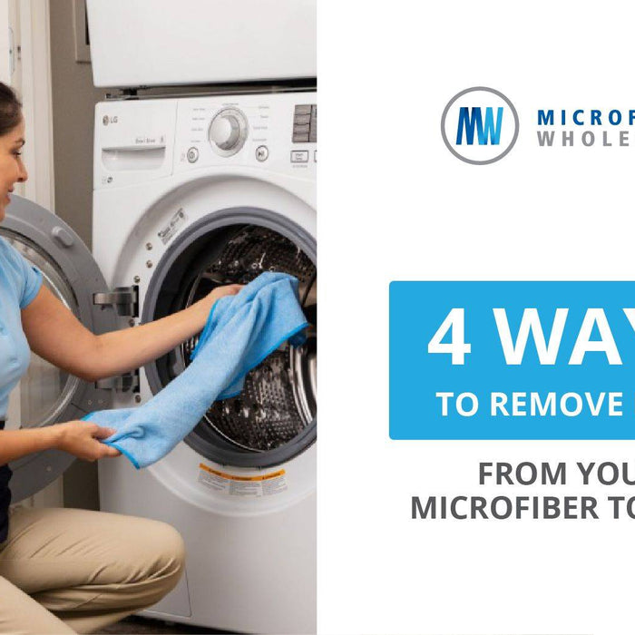How To Remove Lint and Debris from Microfiber Towels
