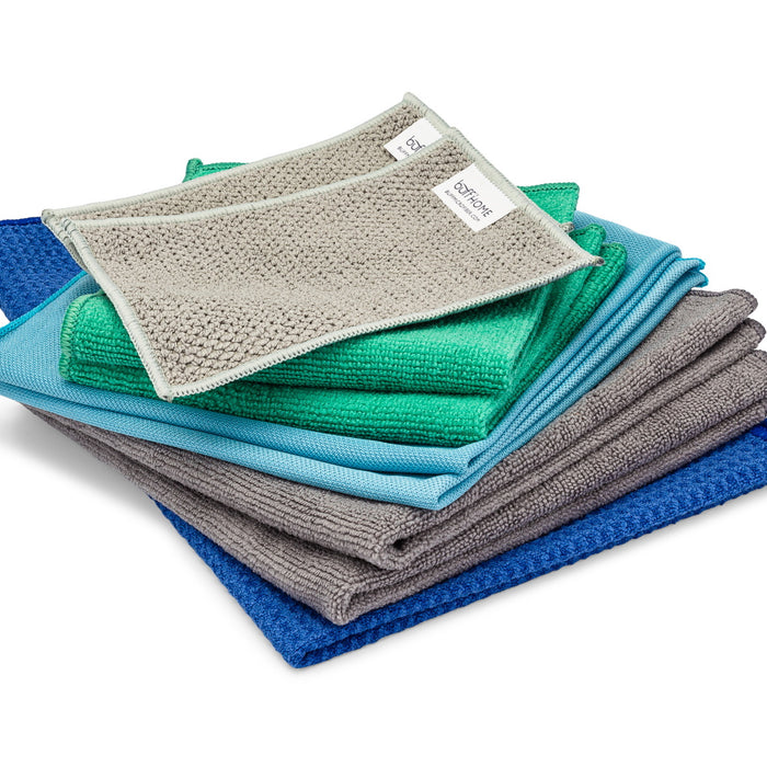 variety pack of microfiber cloths