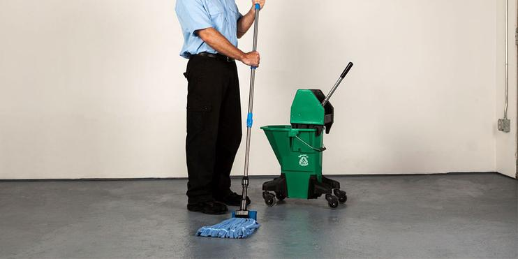 Commercial Microfiber Wet Mops