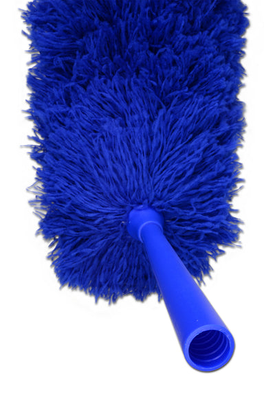 MFFD-A Microfiber Flexible Fluffy Duster Blue