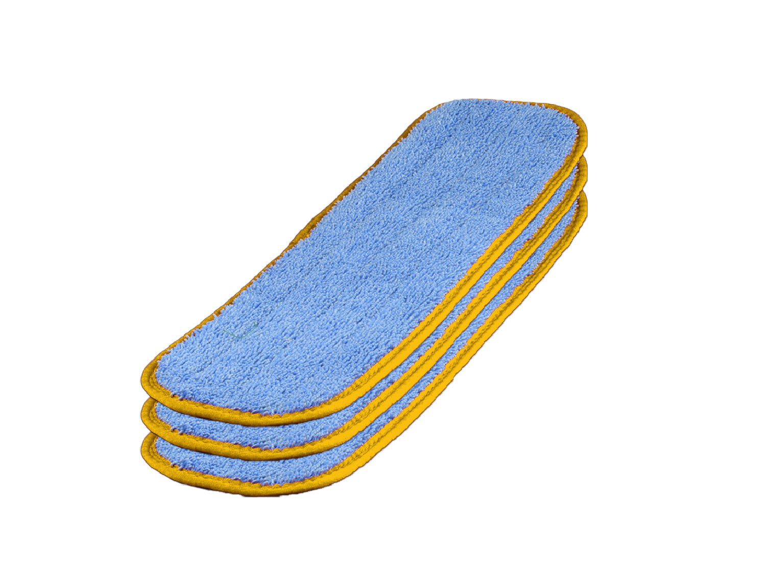 MWMCC-18 Inch Color Coded Microfiber Wet Mop Pads Prevent Cross Contamination