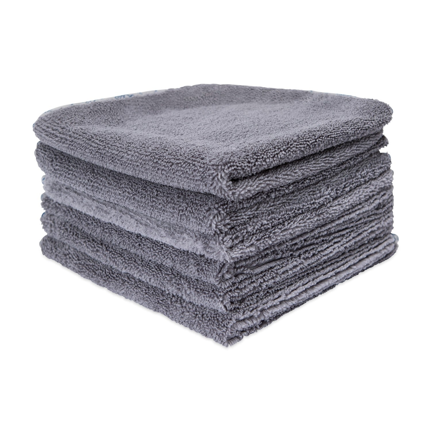 16 x 16 Gray Microfiber Towels For Cars 400 GSM