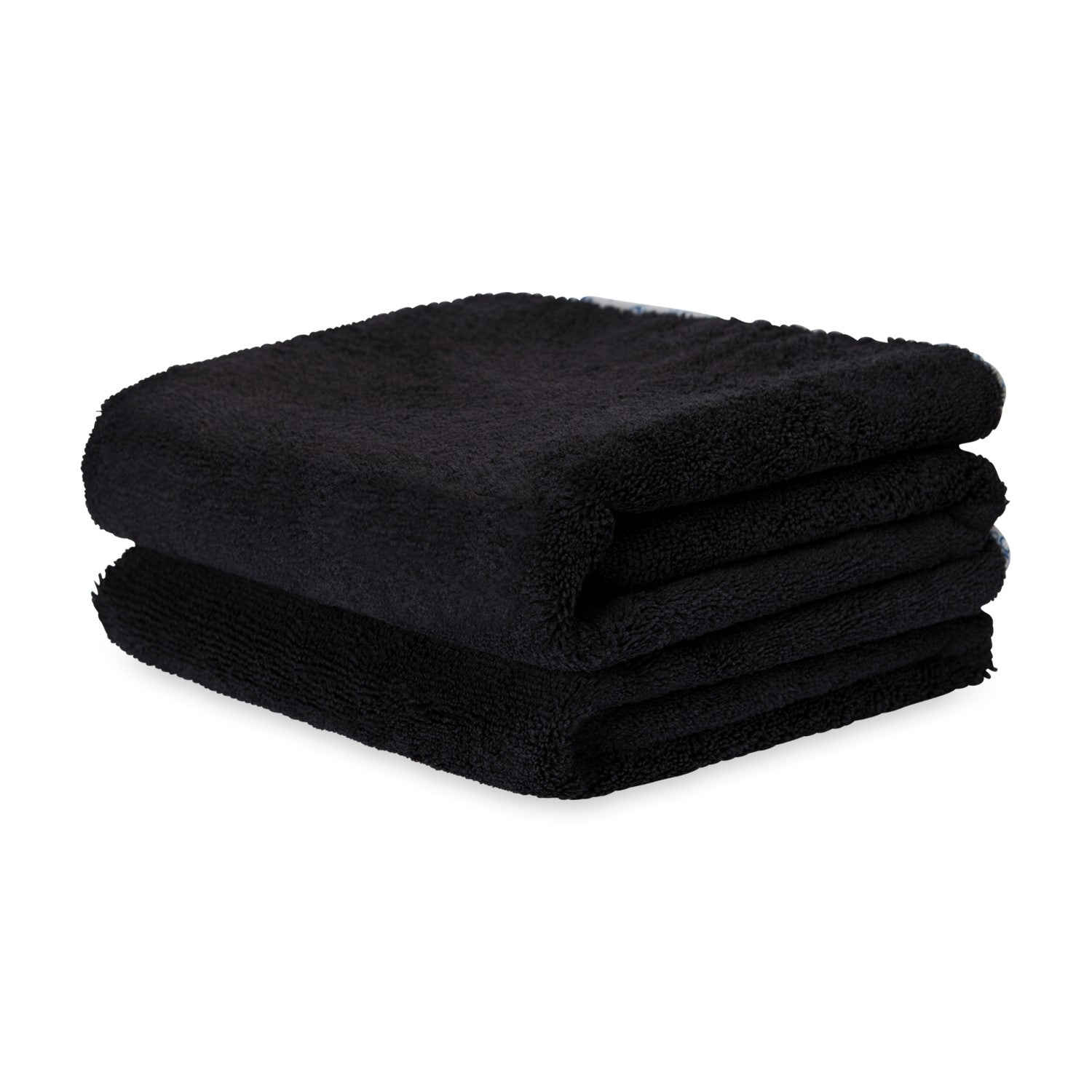Black Microfiber Car Drying Towel Great For Tires
