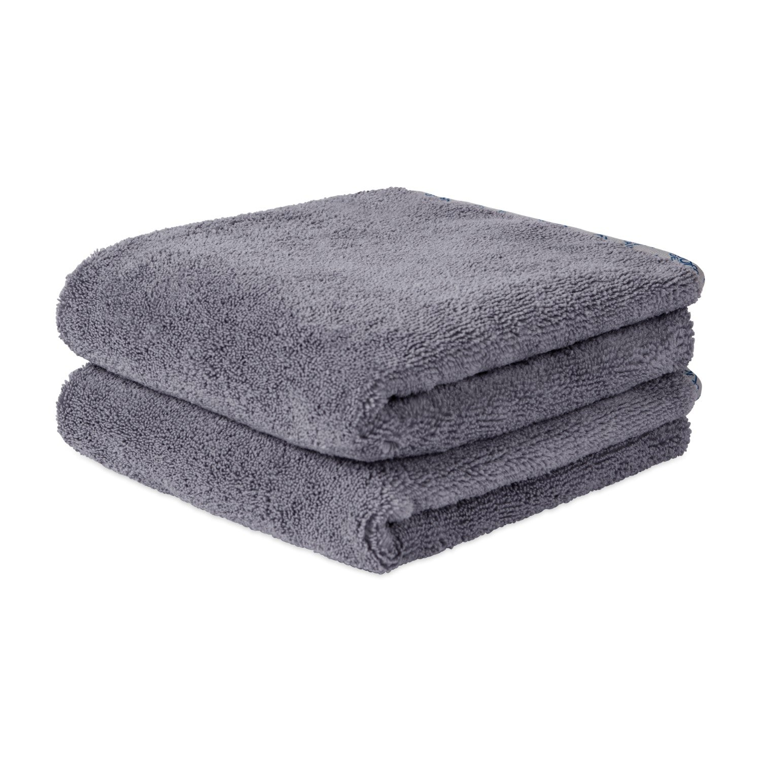 Gray Microfiber Car Drying Towel Super Absorbent