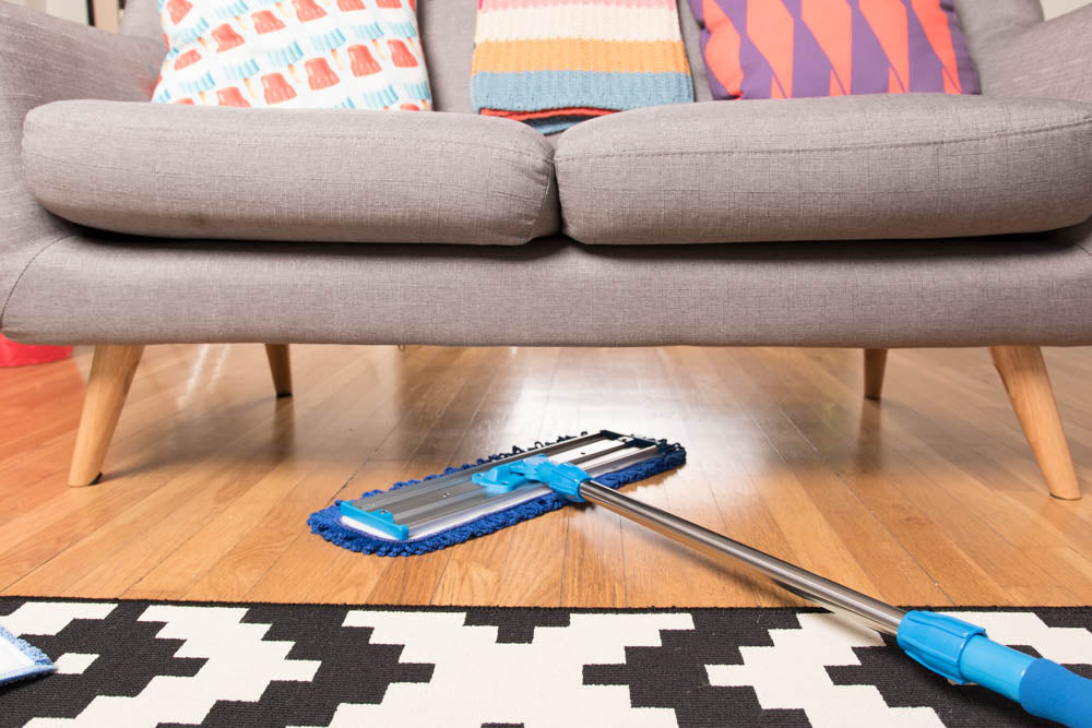 18 Inch Shown - Mojave Microfiber Dust Mop For Hardwood Floors MDMM26