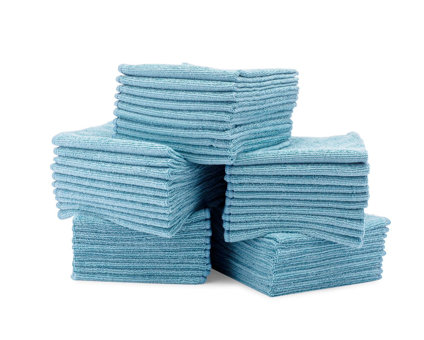 Bulk Microfiber Cloths Blue