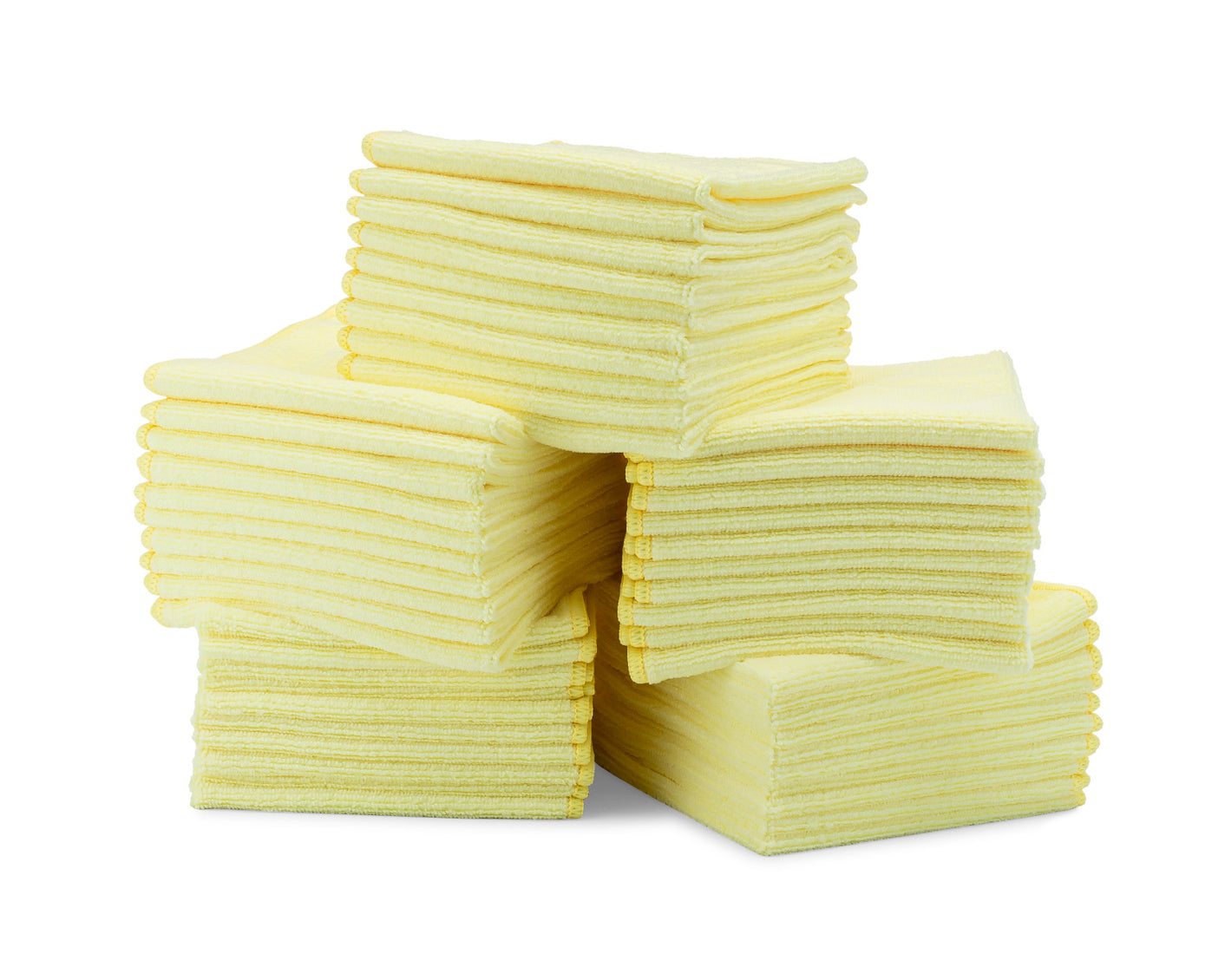 Bulk Microfiber Cloths Yellow