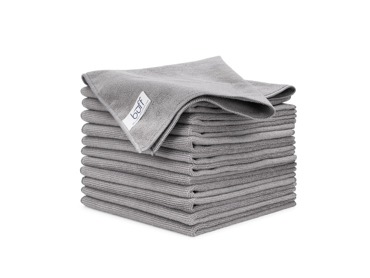 Gray Microfiber Towels 12 Pack