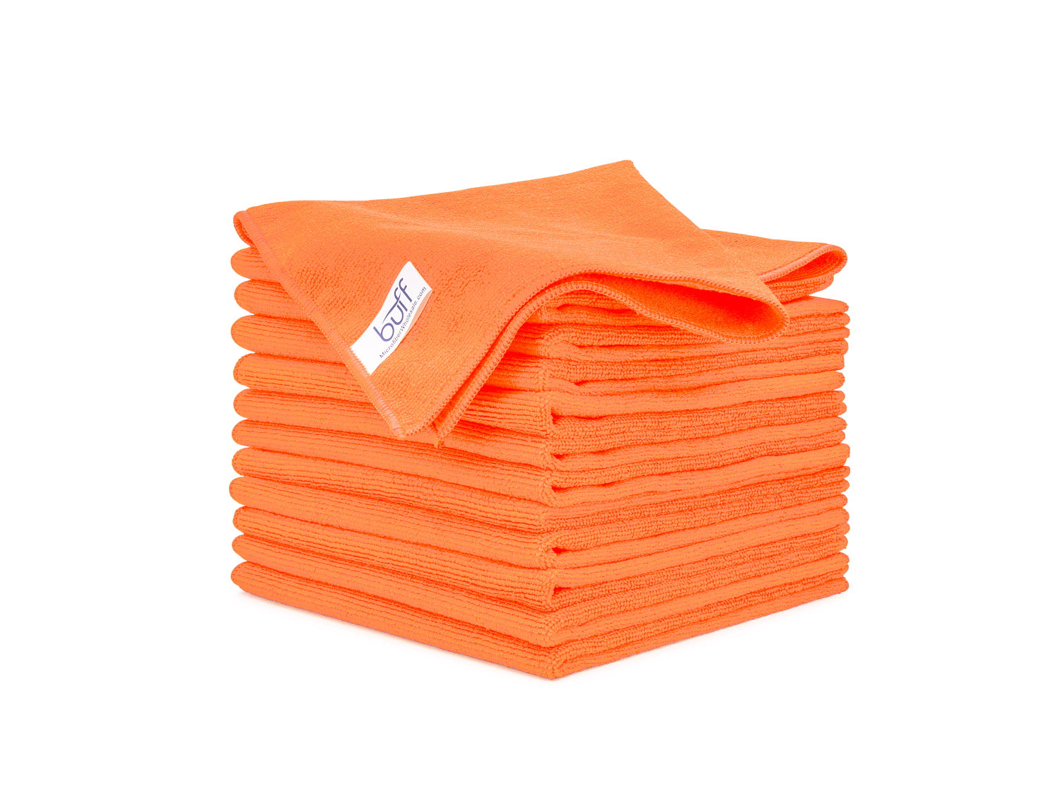 Orange Microfiber Towels 12 Pack