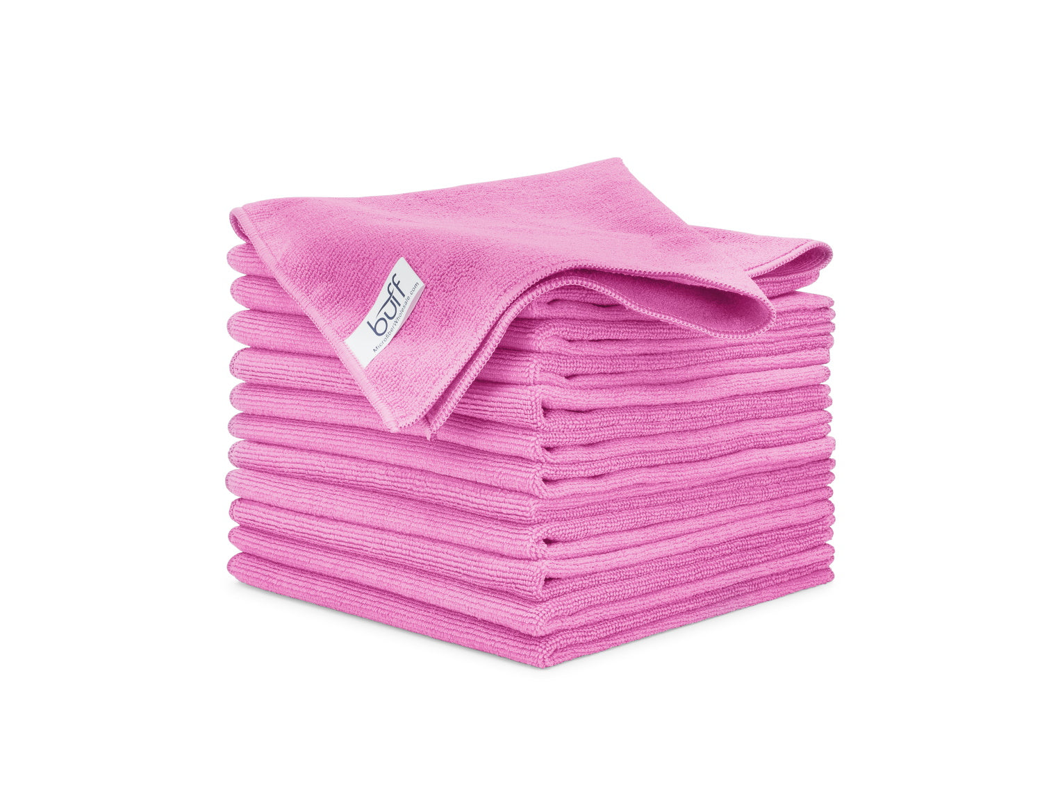 Pink Microfiber Towels 12 Pack