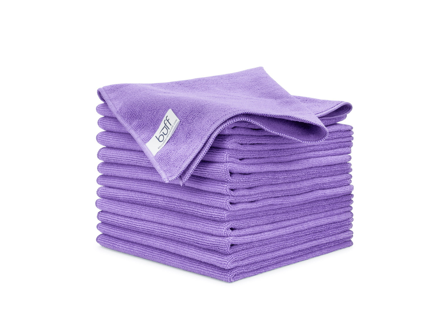 Purple Microfiber Towels 12 Pack