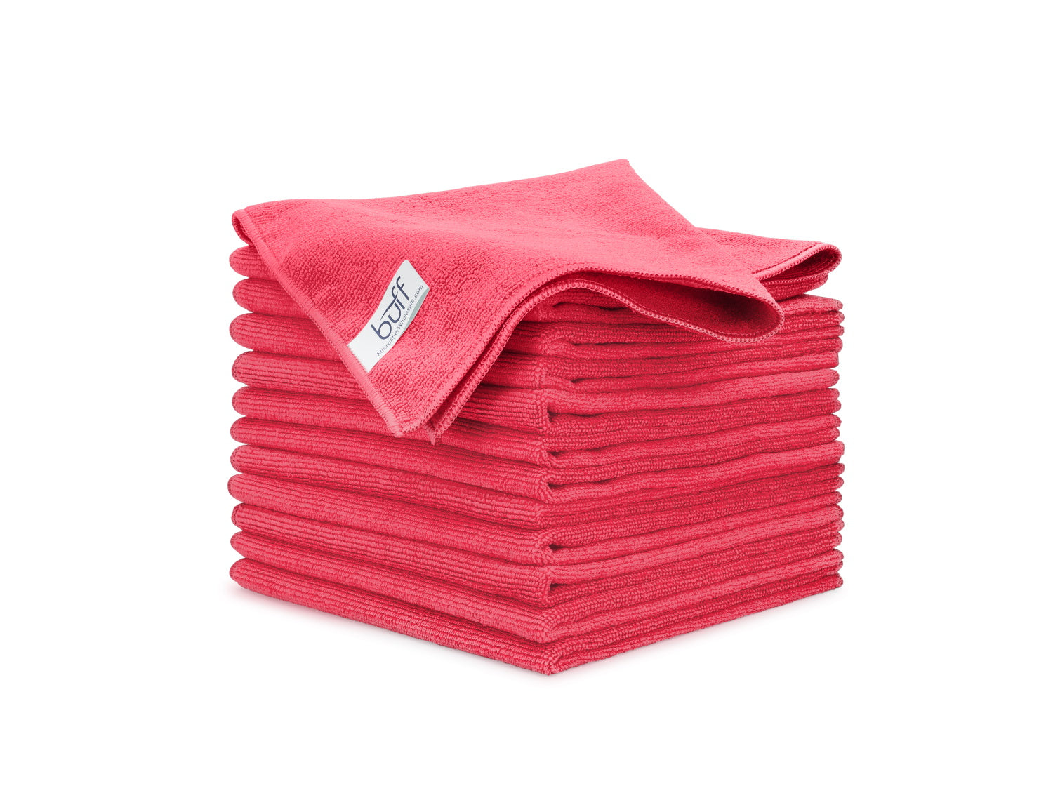 Red Microfiber Towels 12 Pack