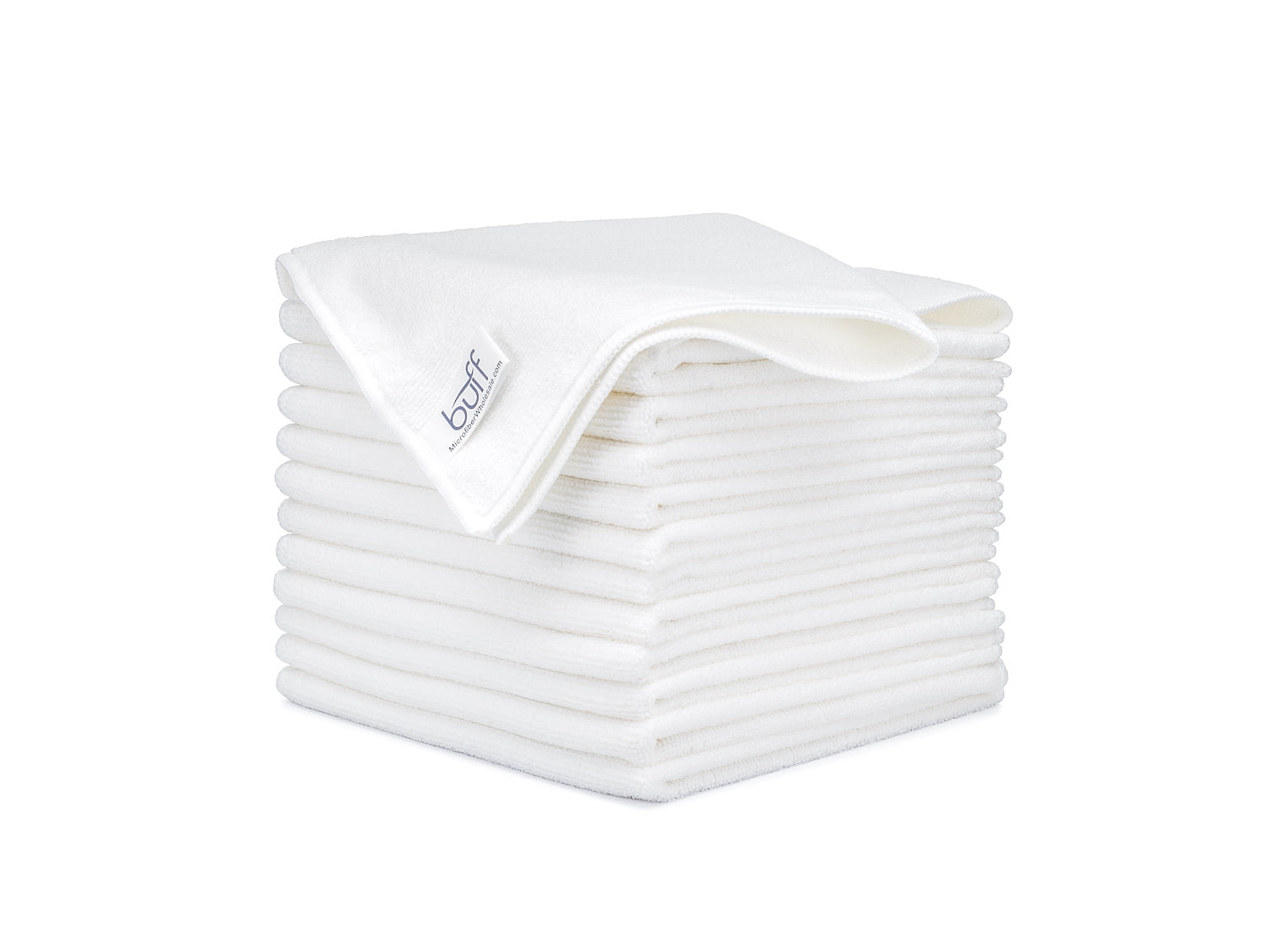 White Microfiber Towels 12 Pack