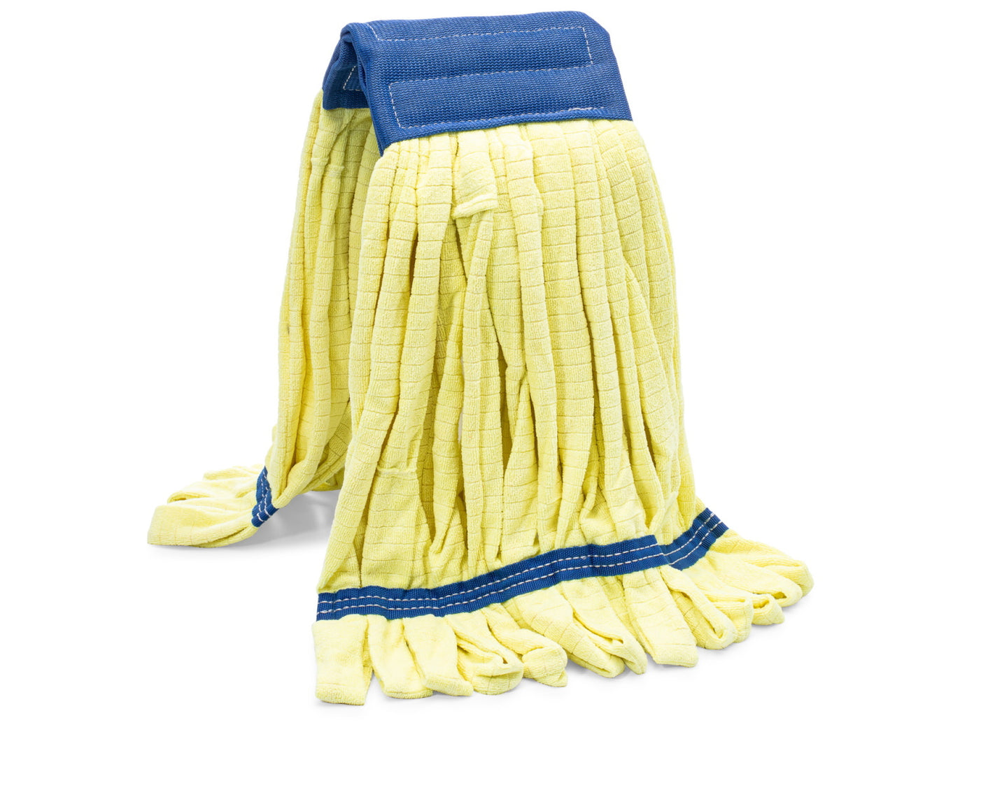 Yellow Industrial Microfiber Wet Mop Head