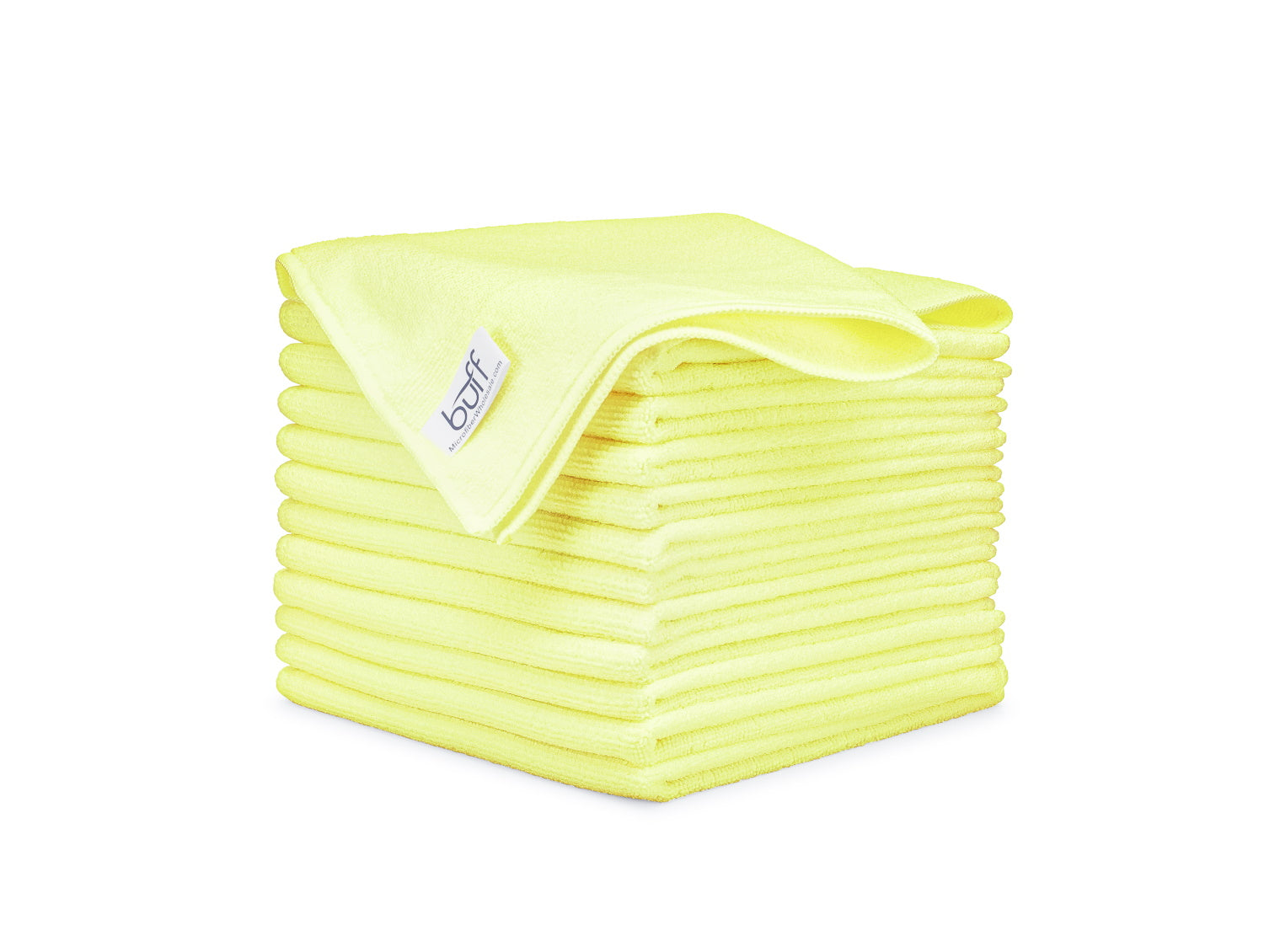 Yellow Microfiber Towels 12 Pack