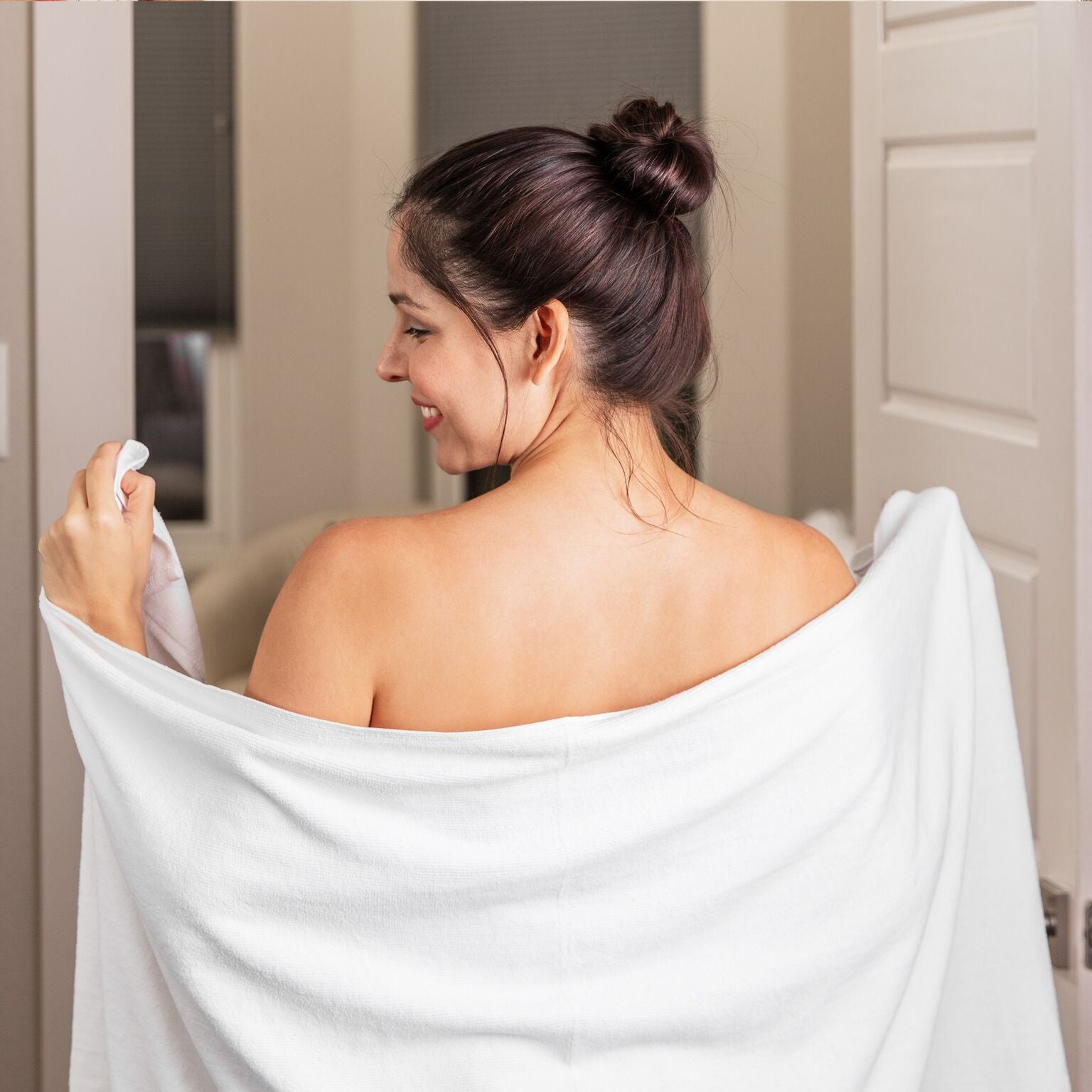 Large Microfiber Bath Towels