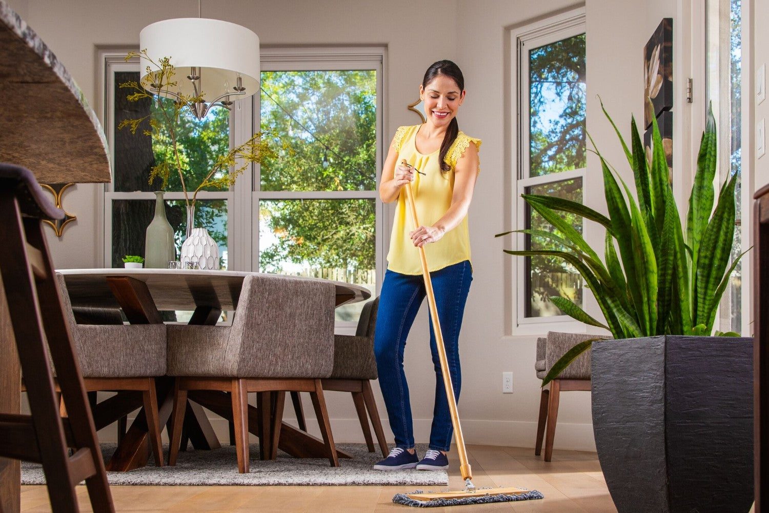 Buff™ Bamboo Wet and Dry Mop System