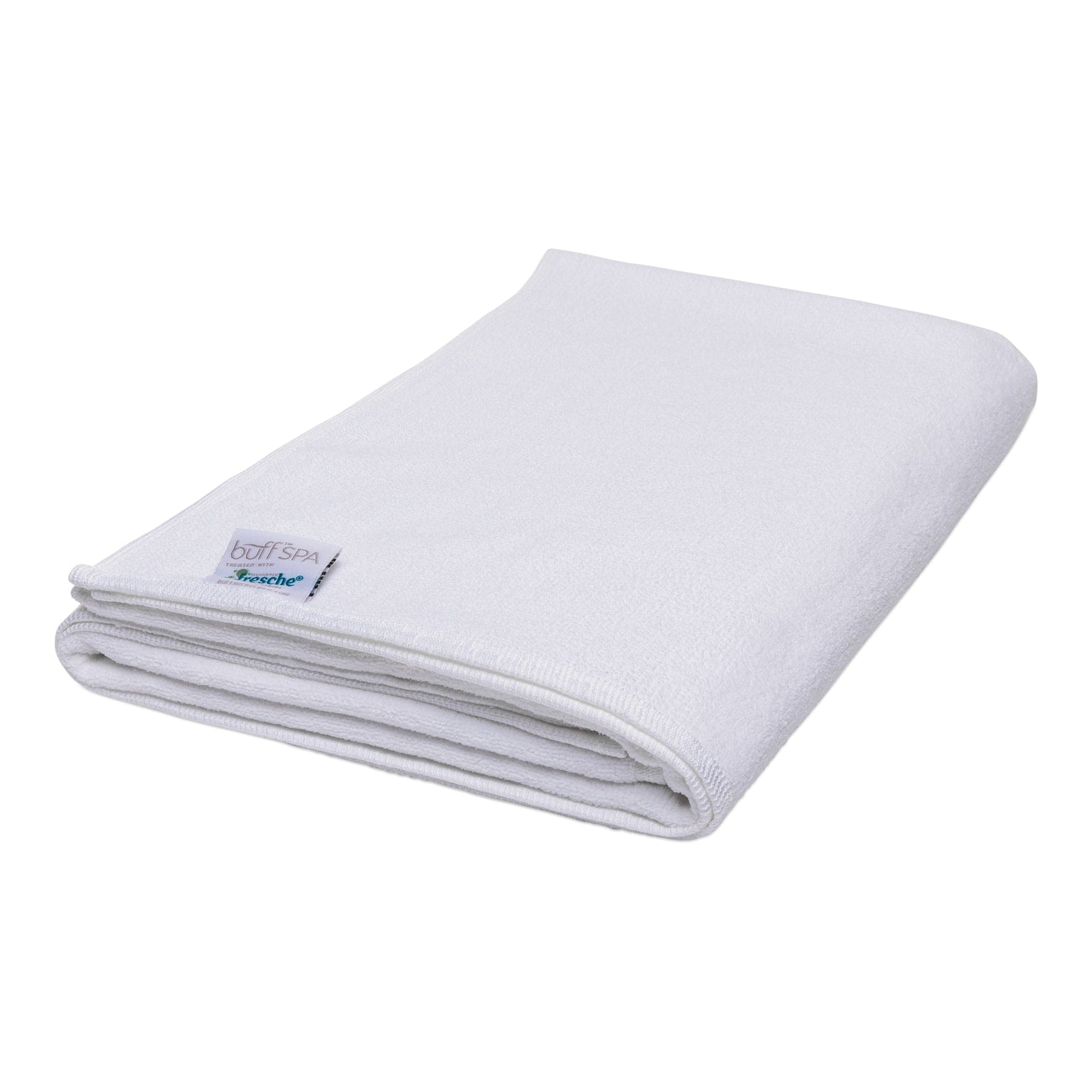 White Microfiber Bath Towels