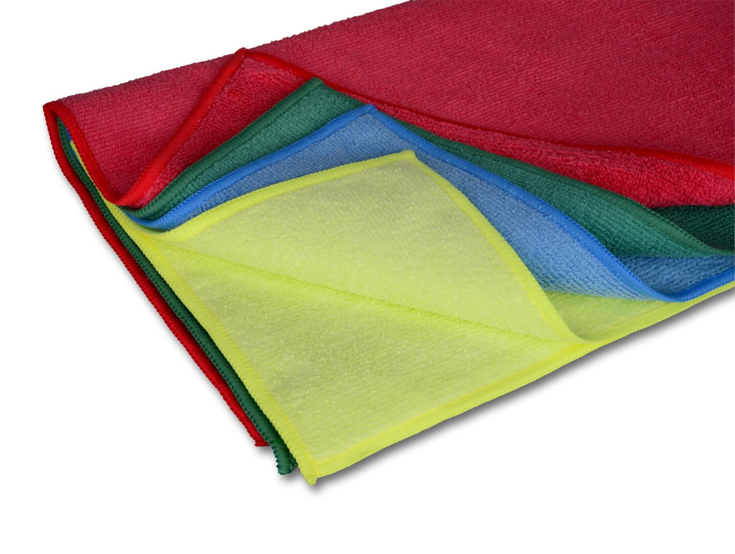 "12"" x 12"" Economy All Purpose Microfiber Towels"