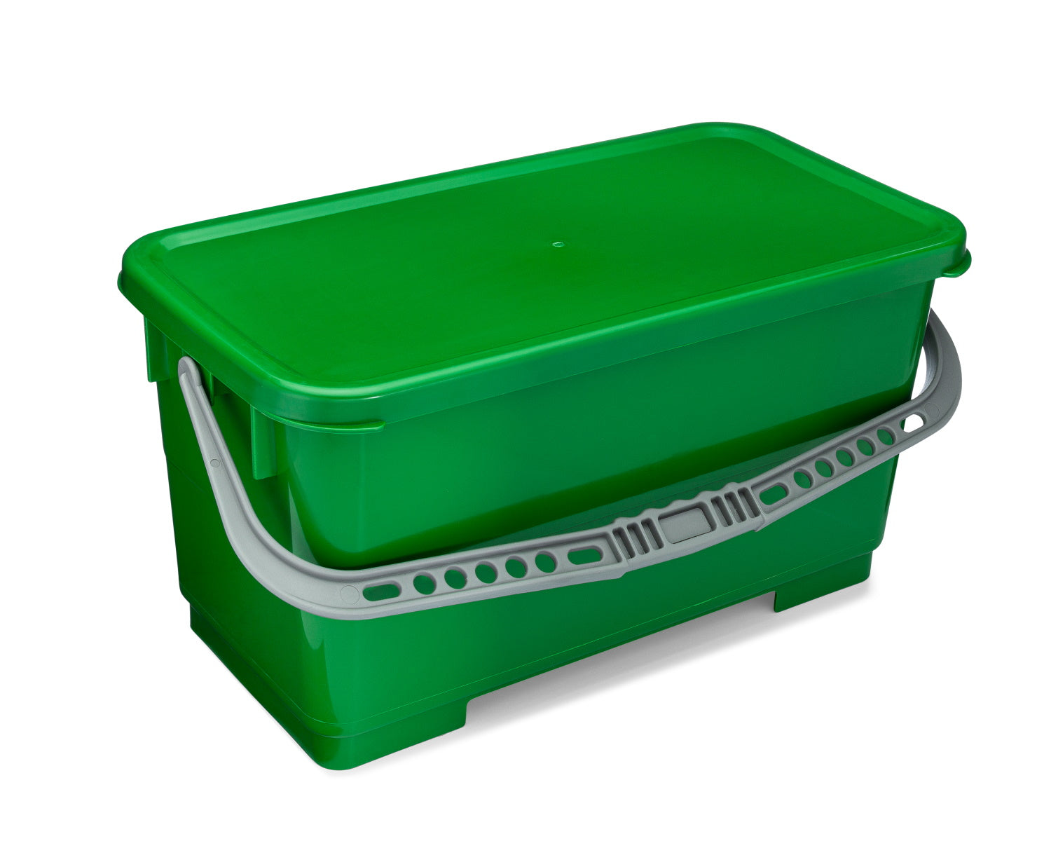 green mop bucket