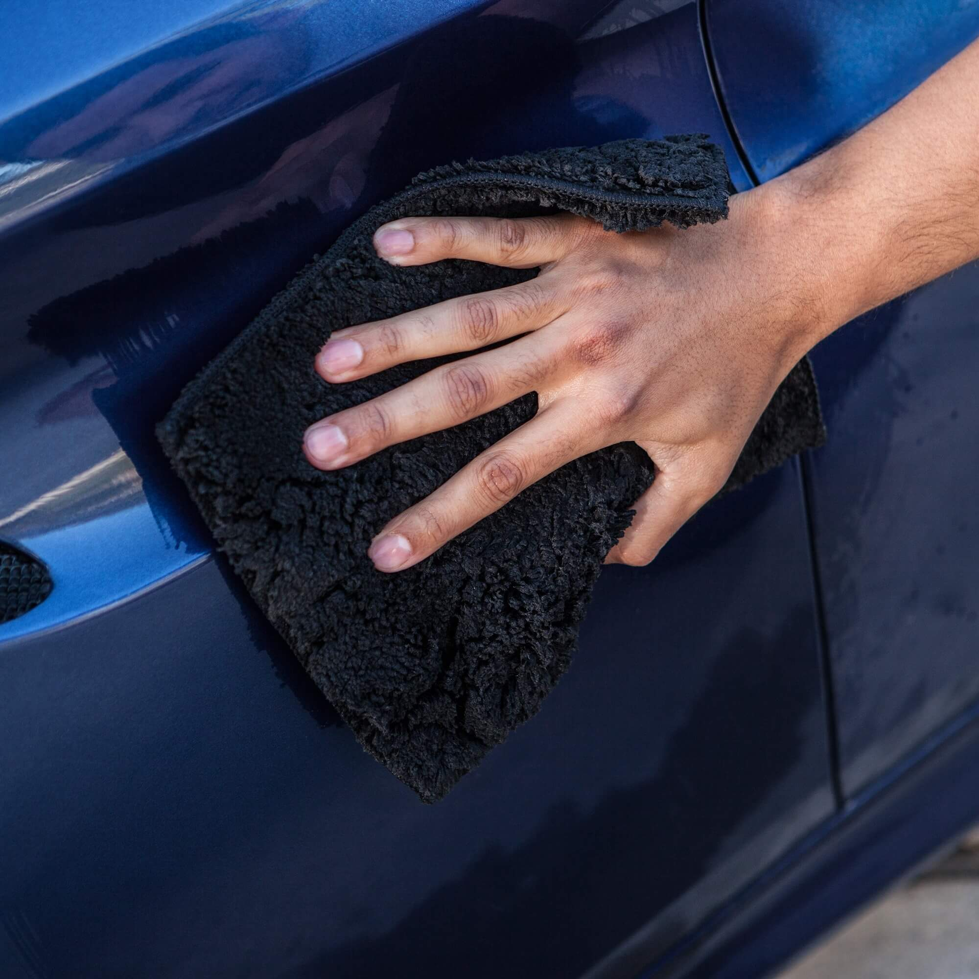 Soft Lambswool Microfiber Car Wash Pad