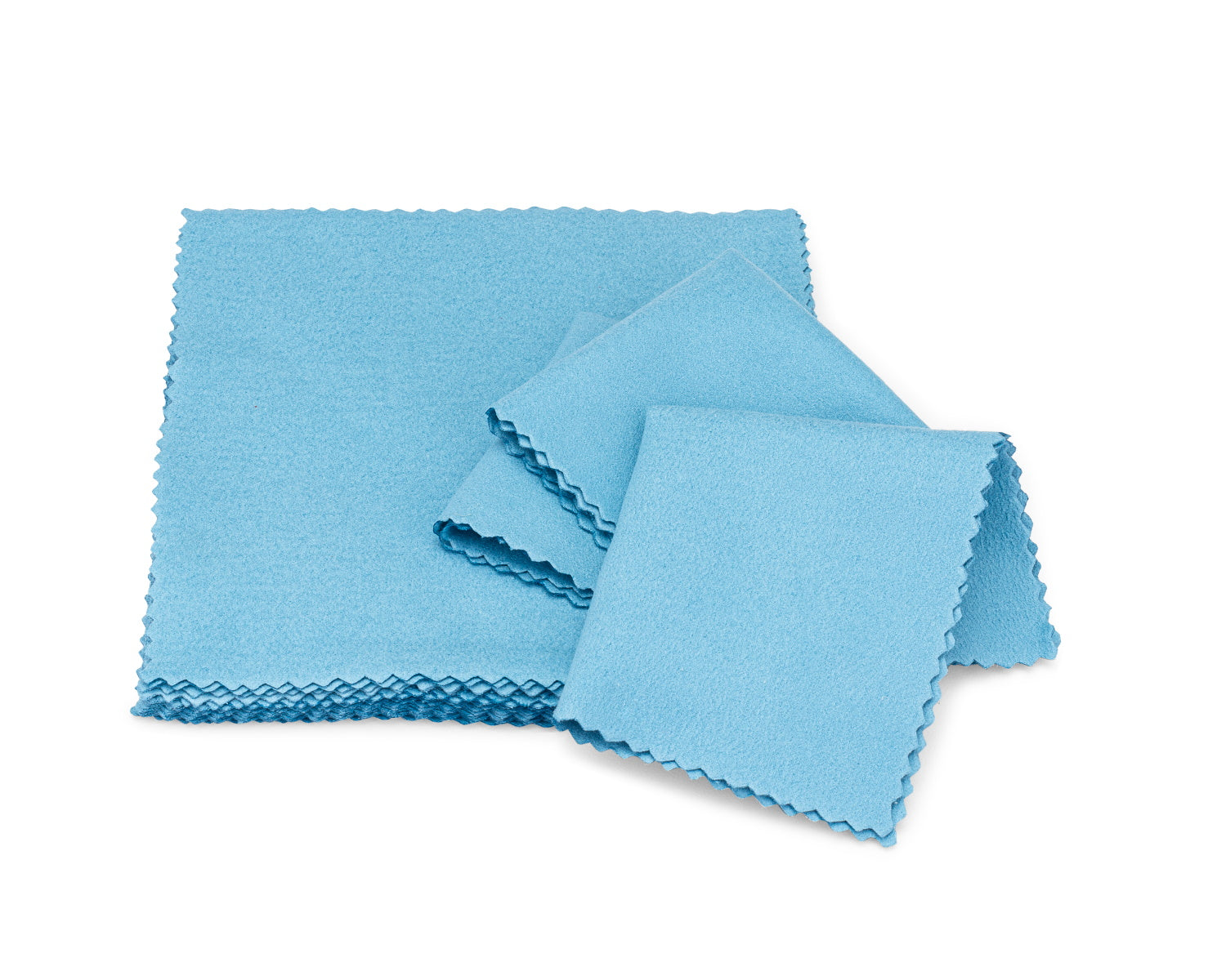 microfiber lens cloth blue