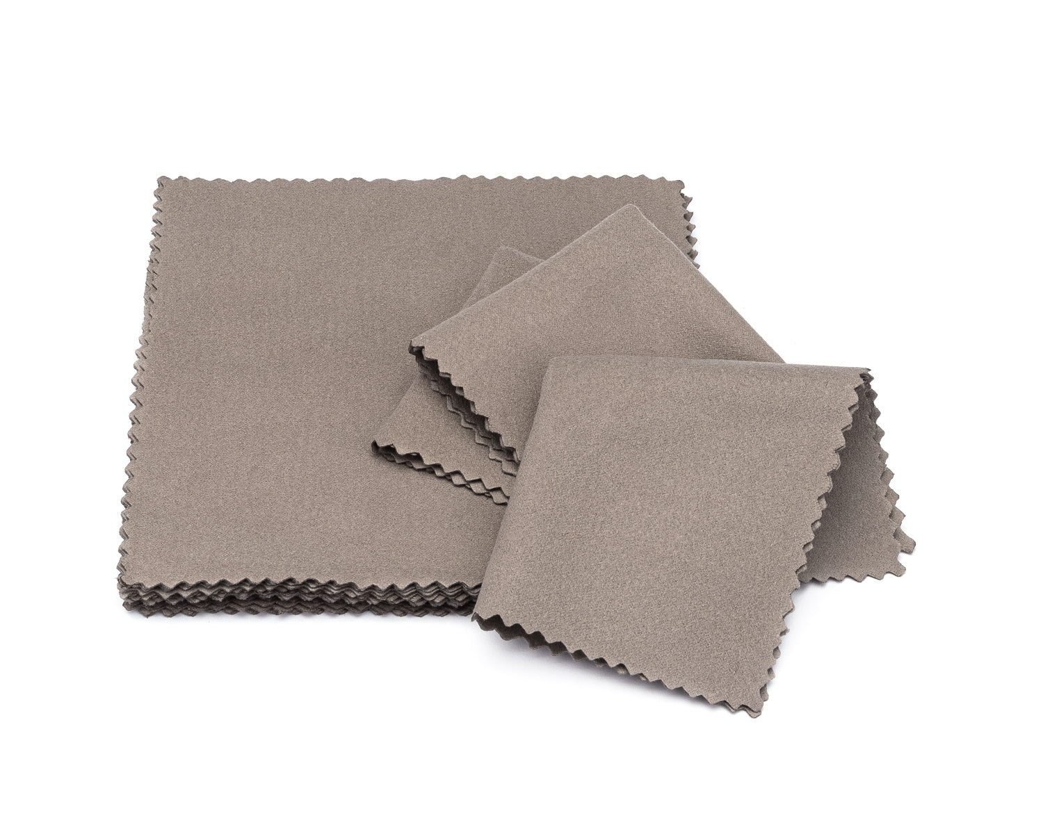 microfiber lens cloth gray