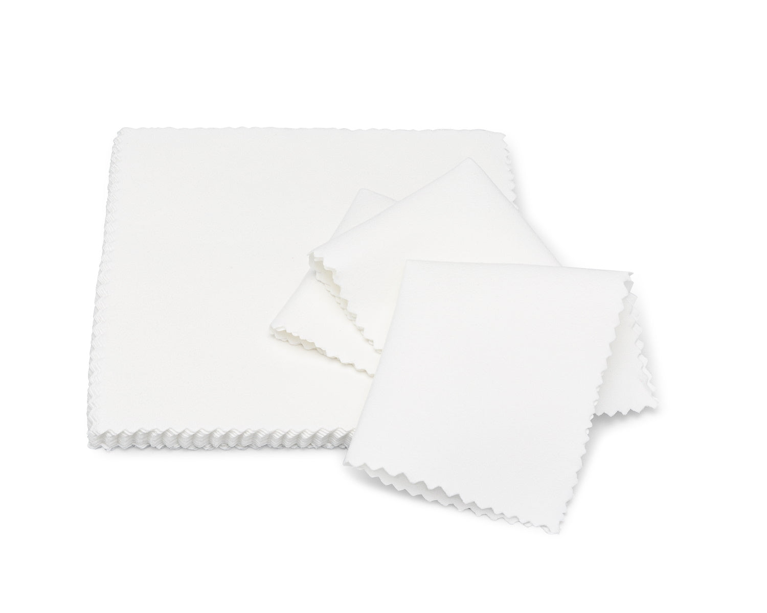 microfiber lens cloth white