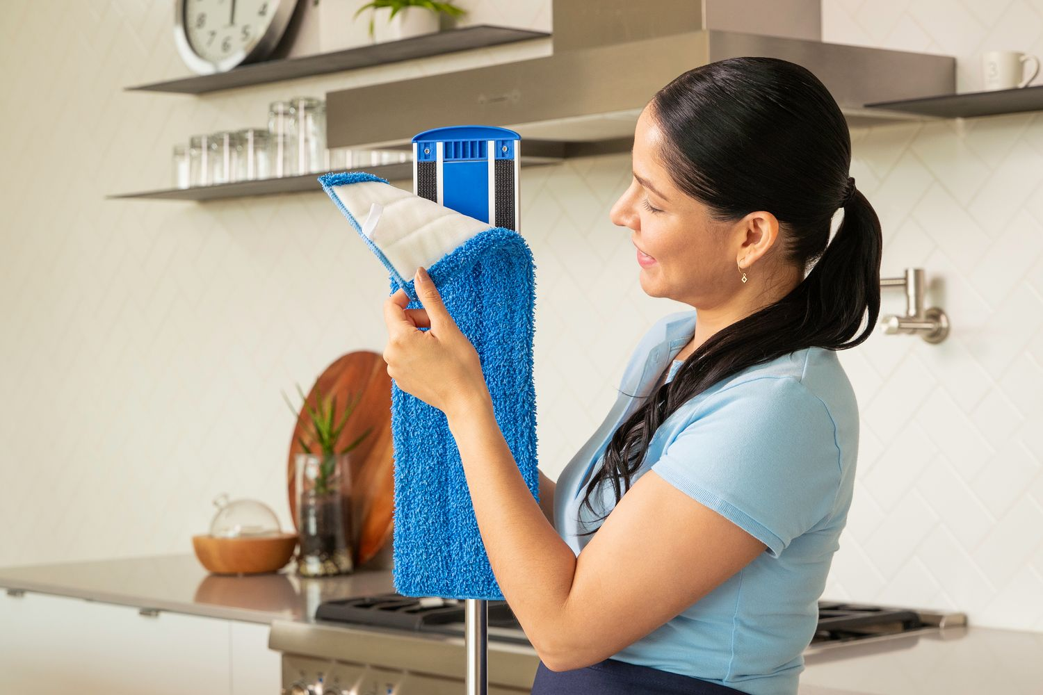 Microfiber Mop With Washable Pads
