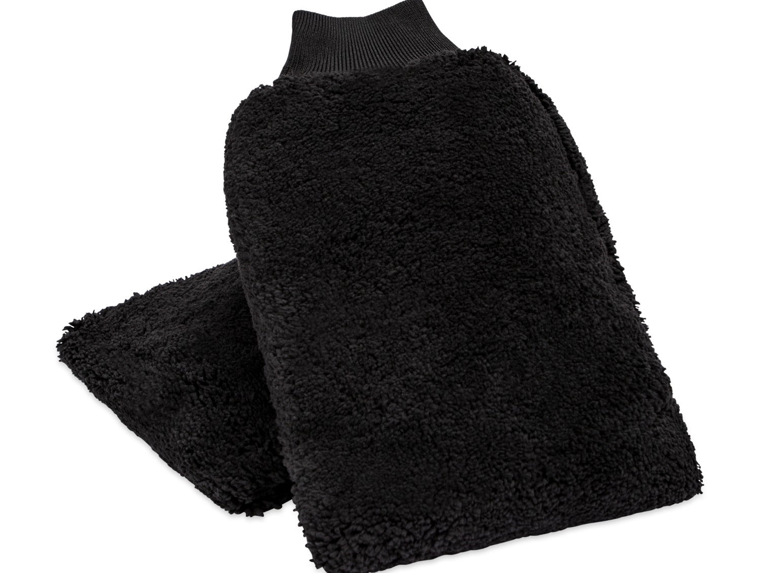 Microfiber Lambswool Car Wash Mitt 2 Pack