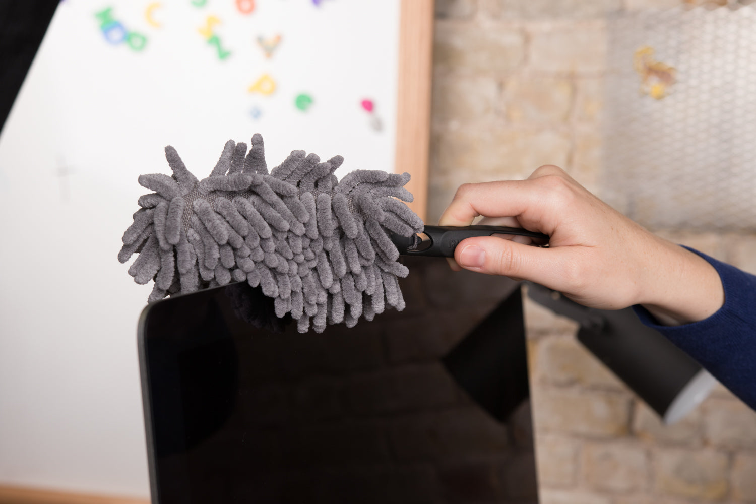 Microfiber Mini Duster Great For Dusting Off Electronics