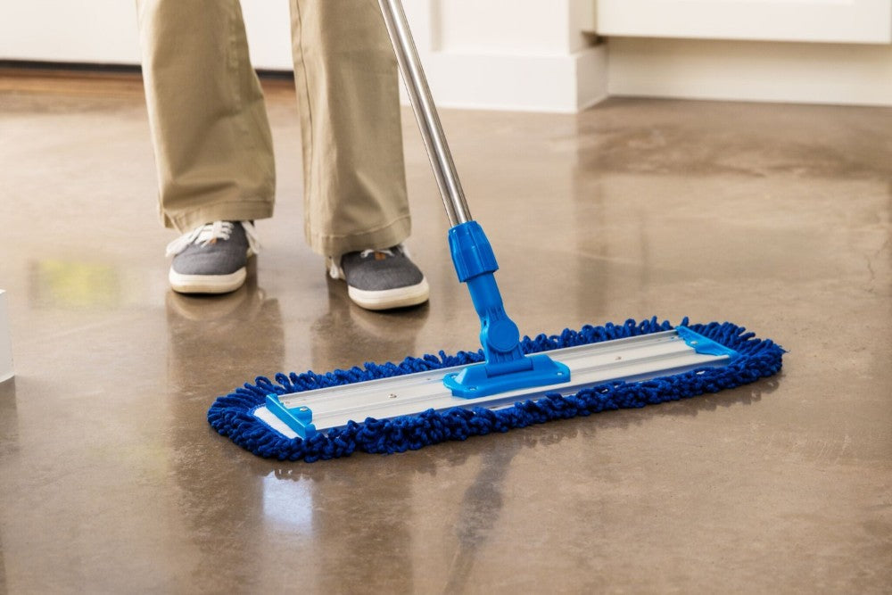 Dust Mop For Concrete Marble Floors