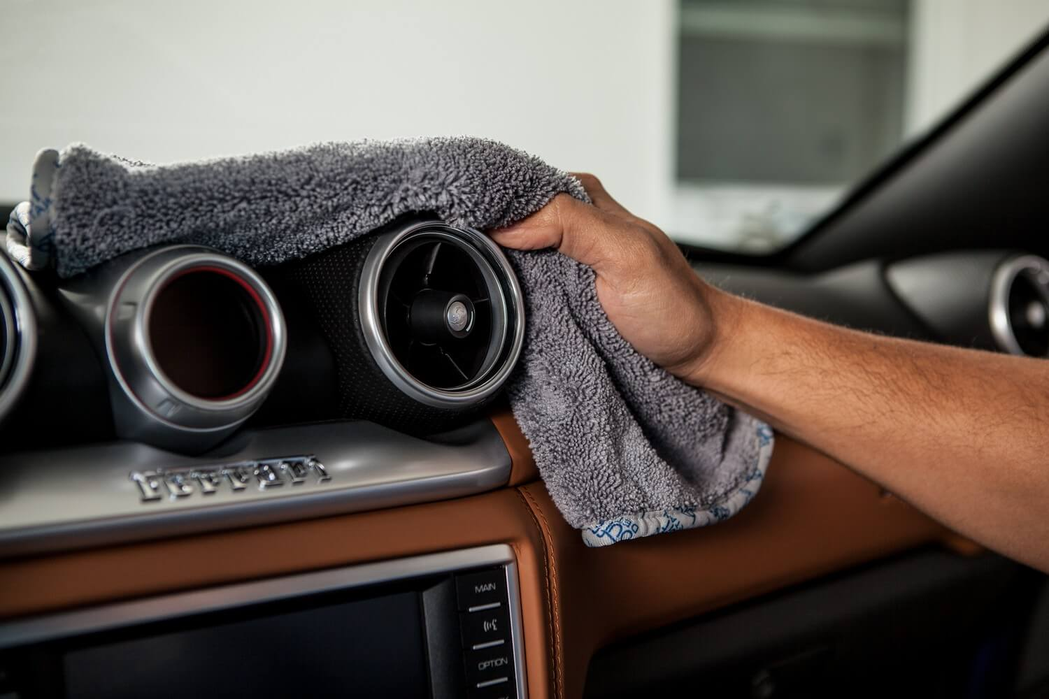 Gray Microfiber Towels For Auto Detailing